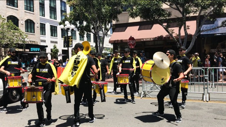Comic-Con: On the Scene as Syfy Drumline Brings Iconic Themes to Life at Comic-Con