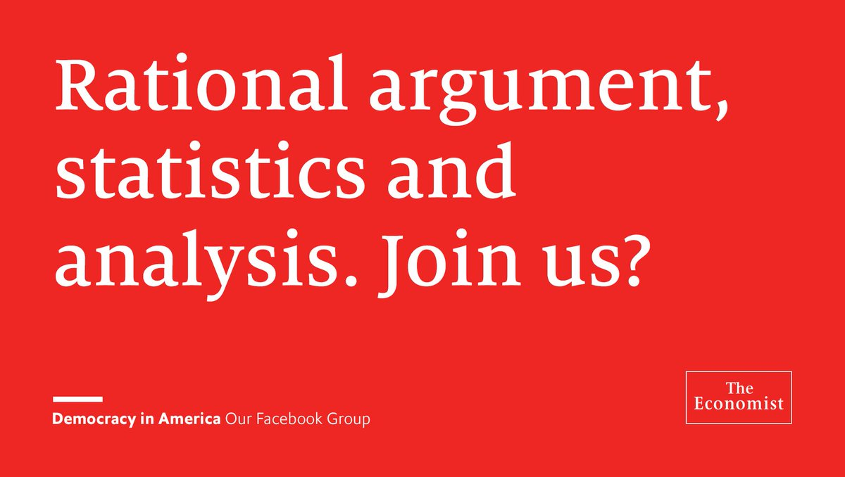 Our Facebook Group hosts civil and bipartisan debate on American politics. Join us: