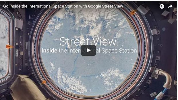 Google Street View tour of International Space Station is amazing
