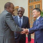 President Uhuru meets e-commerce billionaire, Jack Ma