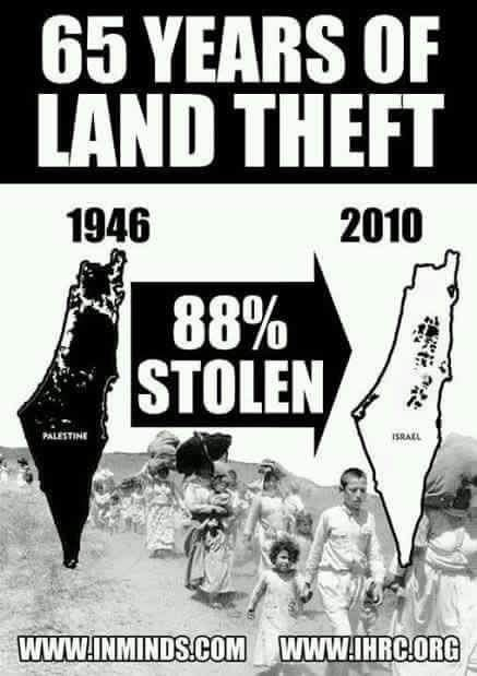 RT @BENSHATA: THE DEMOCRACY THAT LOVES  STEALING PALESTINIANS LANDS  😲😲😲😲😲 https://t.co/axvdGRsxn9