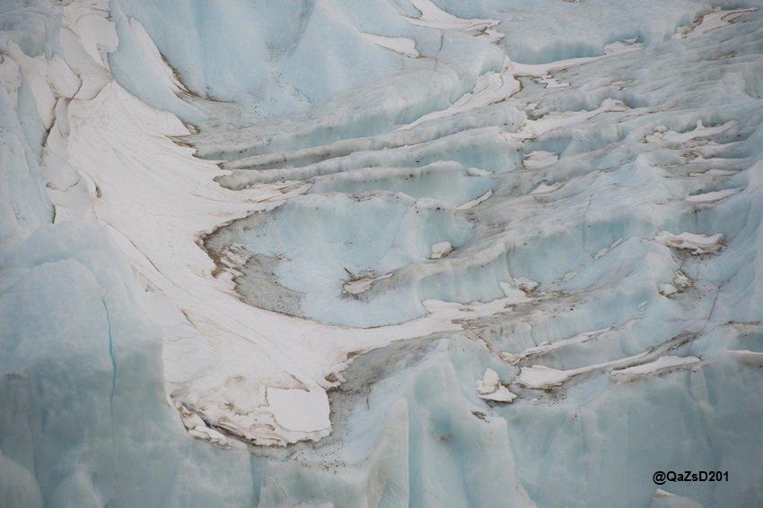 للحقول الجليدية الشمالي تدريجيا