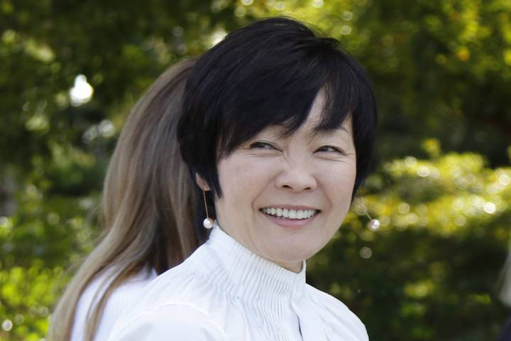 Akie Abe, Japan's first lady, may have let Donald Trump think she doesn't speak English