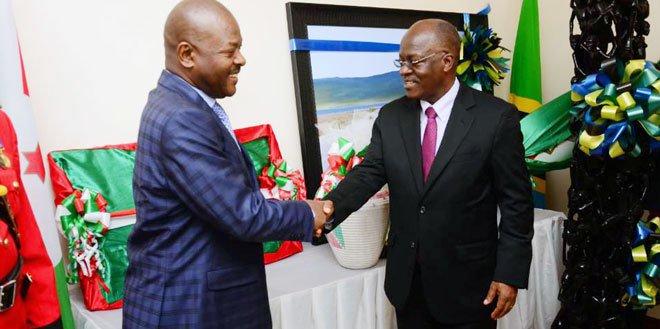 Tanzanian leader Magufuli urges Burundian exiles to go home