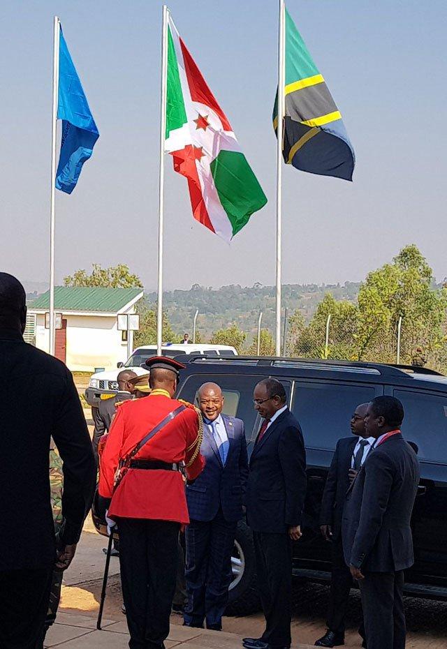 Burundi leader Nkurunziza in Tanzania for first foreign trip in two years