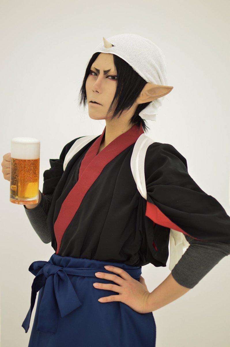 【コスプレ/鬼灯の冷徹】日本地獄納涼祭冷えたビールは如何ですか。p…くろみ