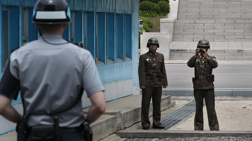 South Korea urges North to accept military talks offer