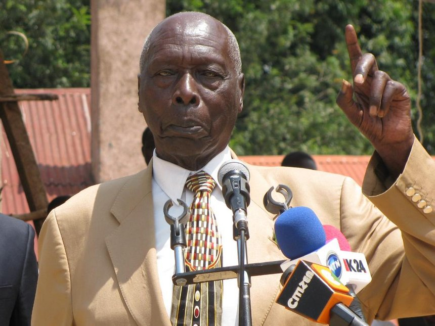 Laikipia squatters battle ex-president Moi, charities over wildlife park
