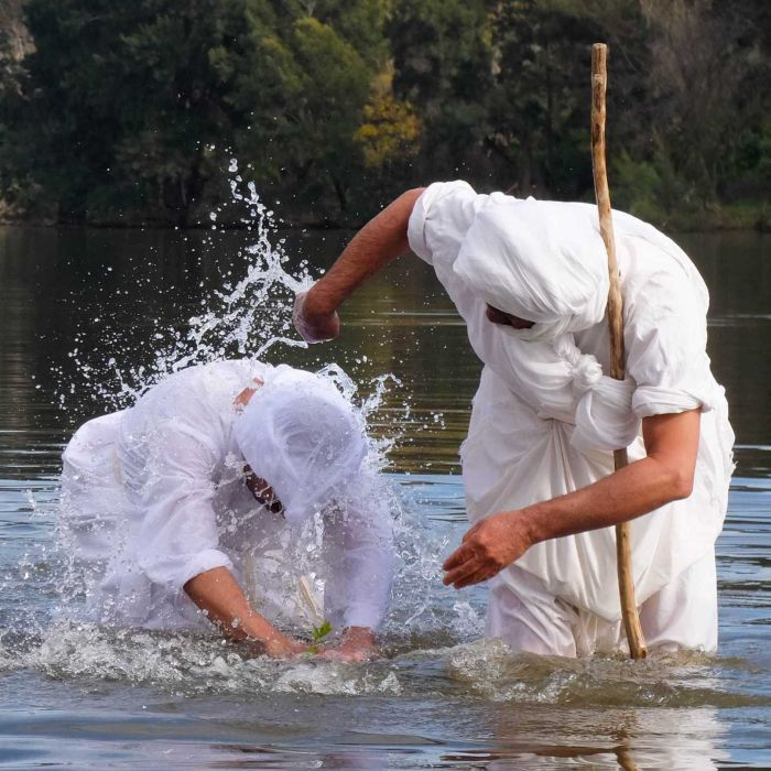 Meet the Mandaeans: Australian followers of John the Baptist celebrate new year