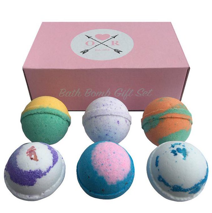 Oliver Rocket Bath Bomb Gift Set-1 Winner gets 2-US-Ends 7/26
