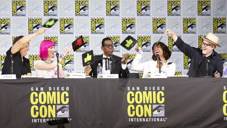 SDCC2017: Syfy's Great Debate pits Marvel against DC Comics, StarWars against