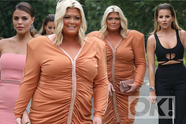 WOW! @missgemcollins turns heads in very daring ensemble at the ITV Summer Reception