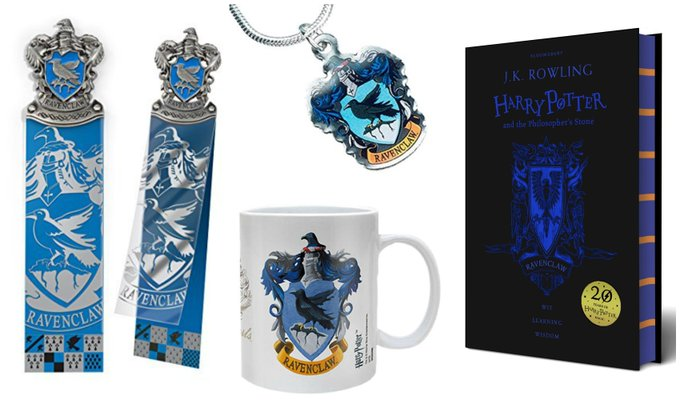 Ravenclaw Book, Bookmark, Necklace & Mug Giveaway
