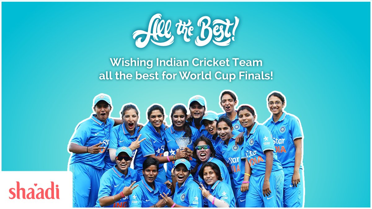 test Twitter Media - It's time to back Indian Cricket Team at the biggest stage of all - World Cup Final!   #WWC17 #INDvsENG @BCCIWomen @cricketworldcup https://t.co/J7QjOmDGgu