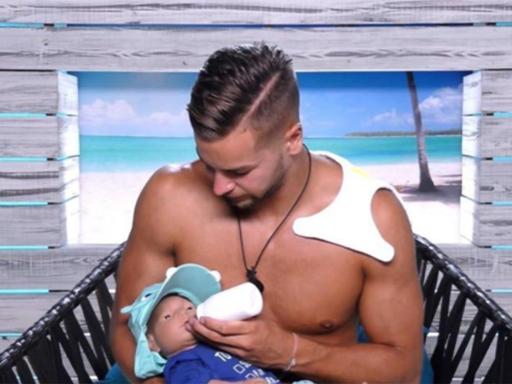 Love Island's Olivia And Chris Spark 'Sexist' Conversation With Baby Task