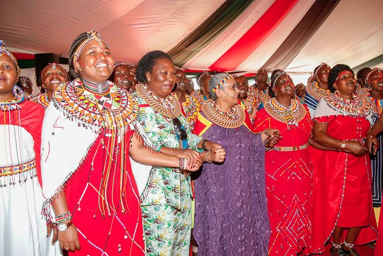 Women from Samburu and Marsabit vow to vote for President Uhuru