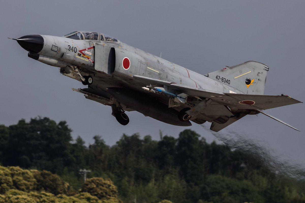 "2017/7/20 Thu. Hyakuri AirbaseJASDF 301TFS F-4EJ改 ""47-8340""日"