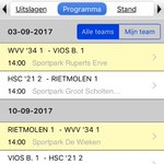 Programma #knvbbeker #WVV34 bekend..... #hengevelde https://t.co/yoE5rcAlTr