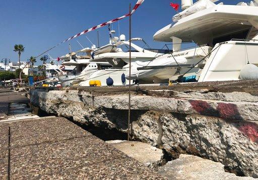 Earthquake kills 2 on Greek island, sends tourists panicking