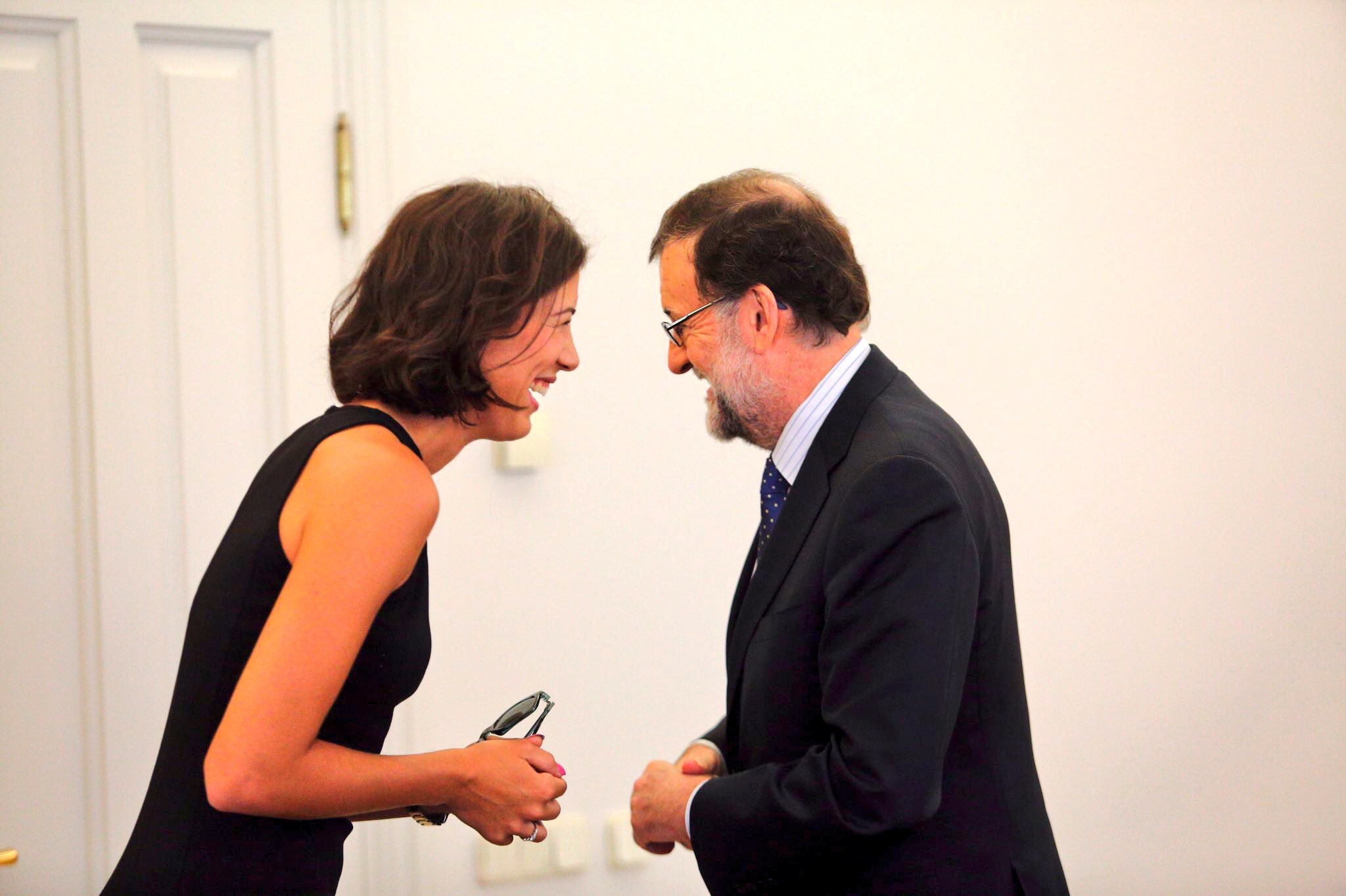 Un placer conocerle @marianorajoy Pleasure meeting the president  �� https://t.co/SnYiL8Hd9D