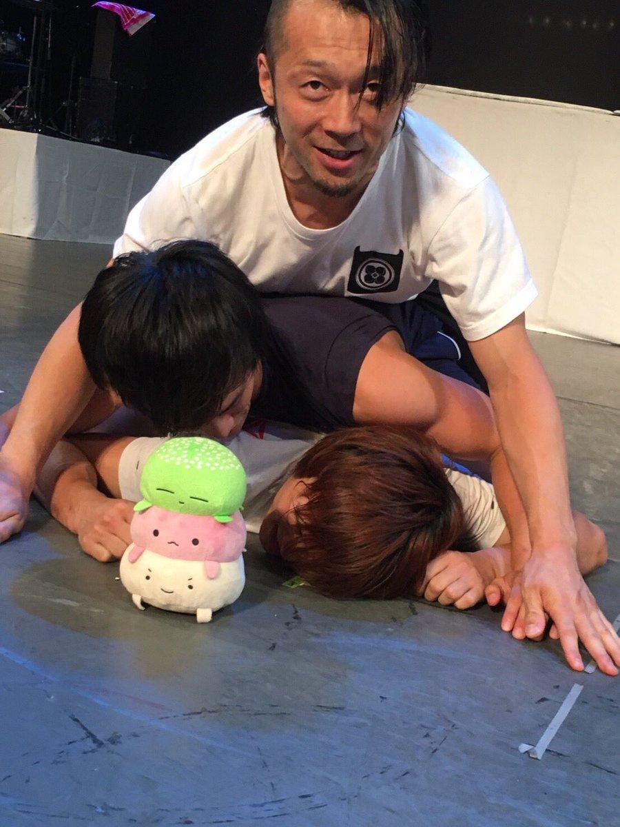 明日、7月22日、石川県こまつ芸術劇場にて、アメージング八犬伝14時と18時の2公演やりますよー!!テレキンちゃんとお待