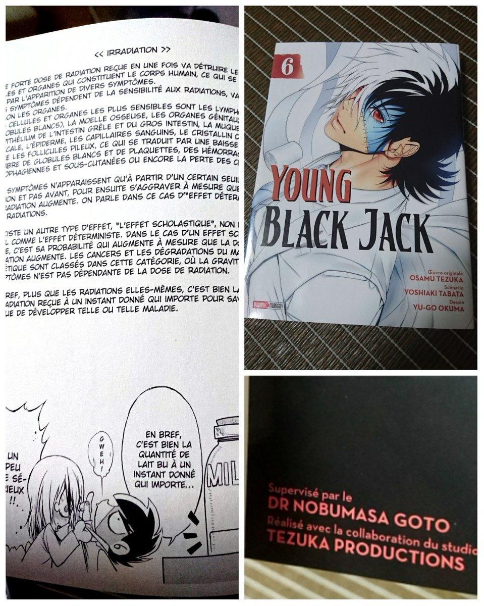 ヤングブラックジャック~フランス語版頂きました。う~ん…自分のコラムでさえさっぱり分からん( ̄ー ̄)しかし、医師でもない