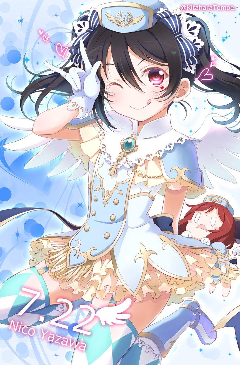 Pixivに投稿しました天使のにこ or 小悪魔のにこ どっちが好き? |北原朋萌。#lovelive#矢澤にこ生誕祭2