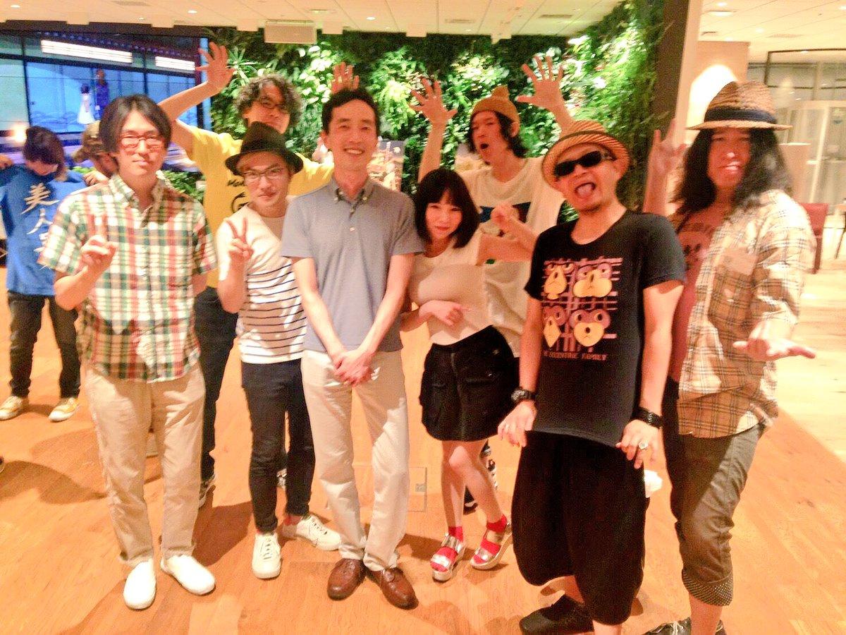 先日、「有頂天家族2」の完成打ち上げに参加してきました。僕らfhánaのデビューは「有頂天家族」のED主題歌だったわけで