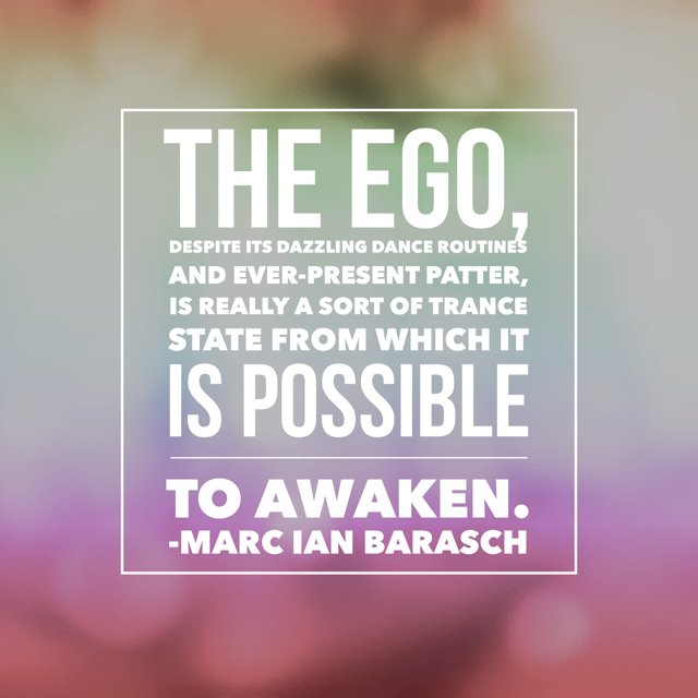 The possibility of awakening from the ego. https://t.co/iiyLqIWV1P