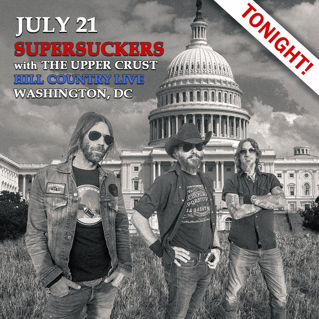 test Twitter Media - Tonight! Supersuckers at @hillcountrylive in DC with The Upper Crust! Info at https://t.co/bOzMNUJfW9 https://t.co/Paax6KCMQD