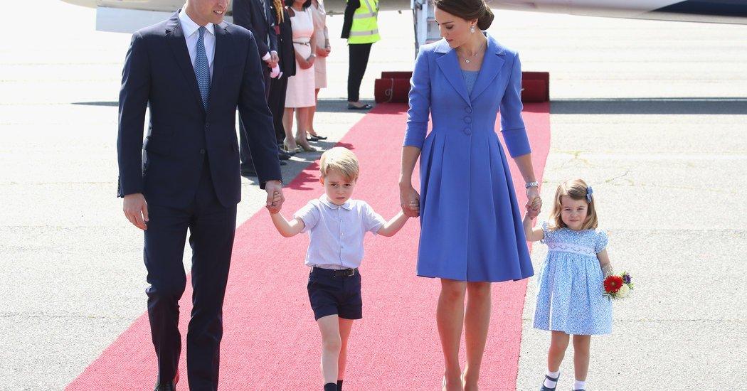The Duchess of Cambridge and Family Refine the Art of Pantone Politics
