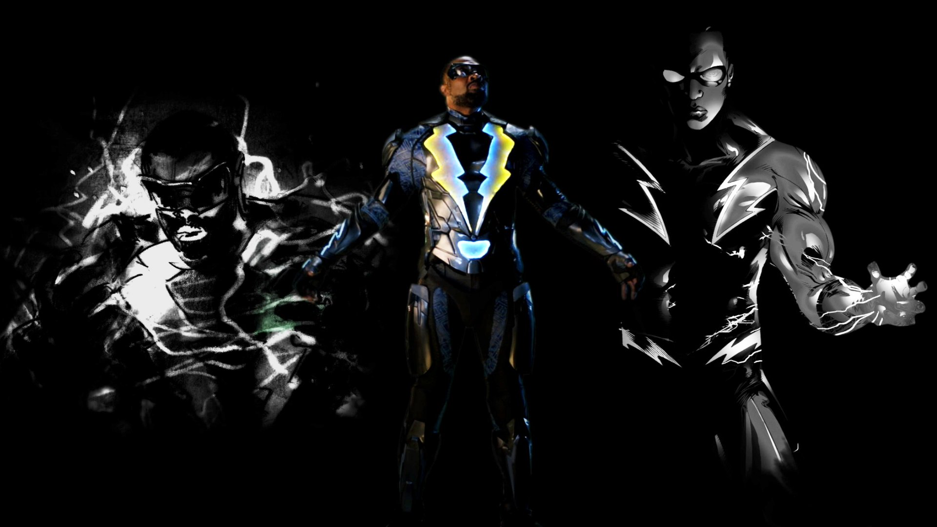 The CW. Where heroes are born. #BlackLightning strikes in 2018! https://t.co/r2eb9K1DYW