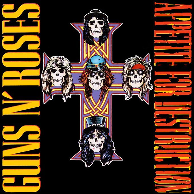 HAPPY 30TH BIRTHDAY TO THE ALBUM THAT INTRODUCED ME TO THE 80\S, TO ROCK, TO SLASH, TO MUSIC