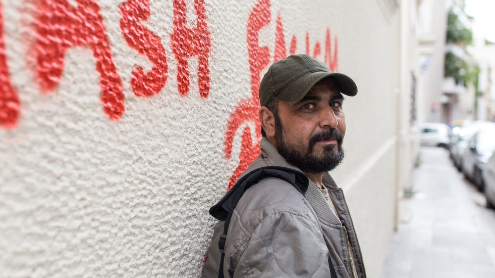 """Now I'm an anti-fascist.""  How an Afghan refugee is fighting Greece's far-right"