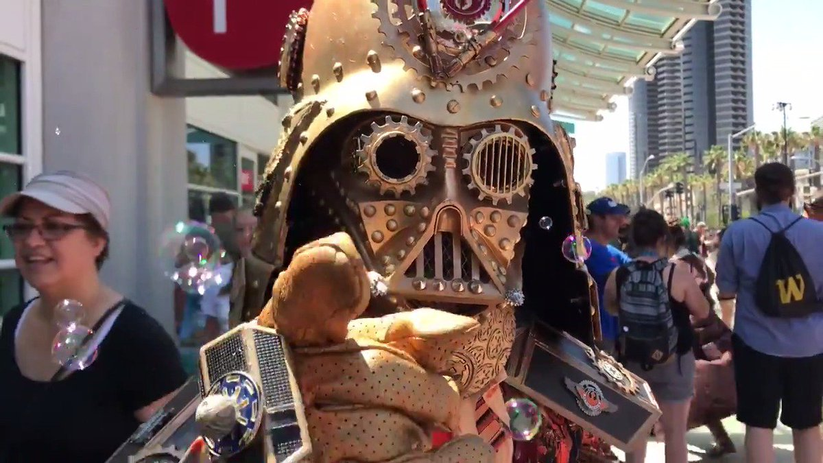 May the Force be with you, SDCC2017 attendees