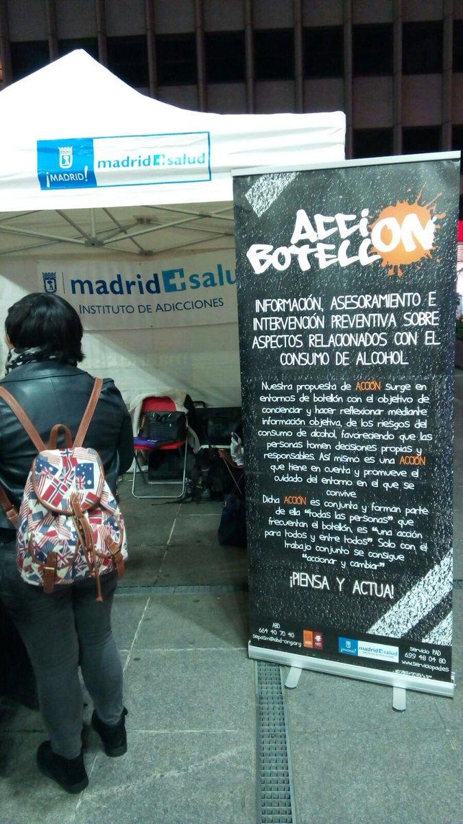 provar Twitter Mitjans - Com prevenir els riscos del consum per afartament dels menors? #AcciónBotellón: Un projecte de @MADRID @SAMUR_PC @CRJMadrid @abd_ong https://t.co/6Bw8NeMnbi