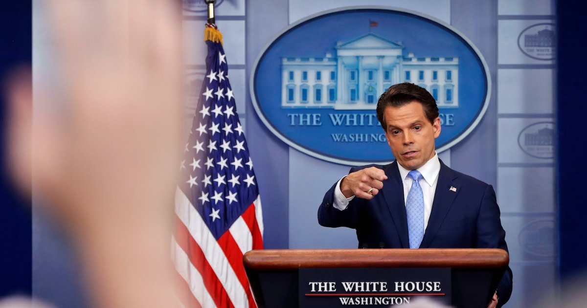 Maybe Trump Should Have Checked Scaramucci's Twitter Feed Before Hiring Him
