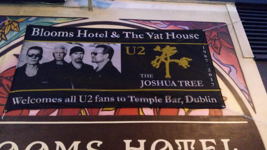 #U2TheJoshuaTree2017 en Dublín desde ya y durante todo el finde https://t.co/BcYJ1D3mn3
