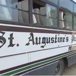 Boy killed in freak school bus accident