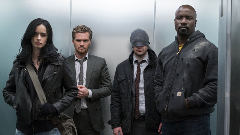 Comic-Con: Marvel Showcases Super Team-Up 'The Defenders' (and 'Punisher')