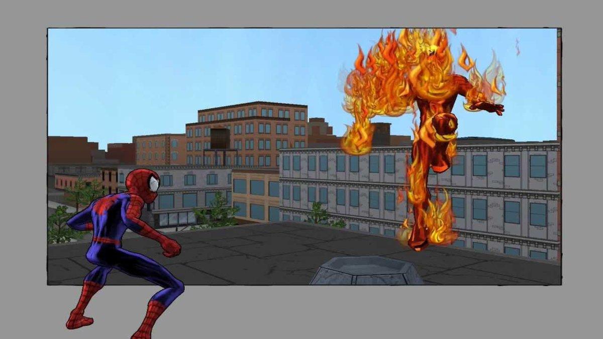 メインストーリーより先にサブクエスト終わらせる派だった為に、アルティメットスパイダーマンのゲームでラスボスより強いヒュー