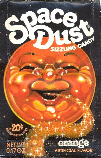 Yep. This was candy for kids in the '70s. #SpaceDust https://t.co/F0x3nzmpWt