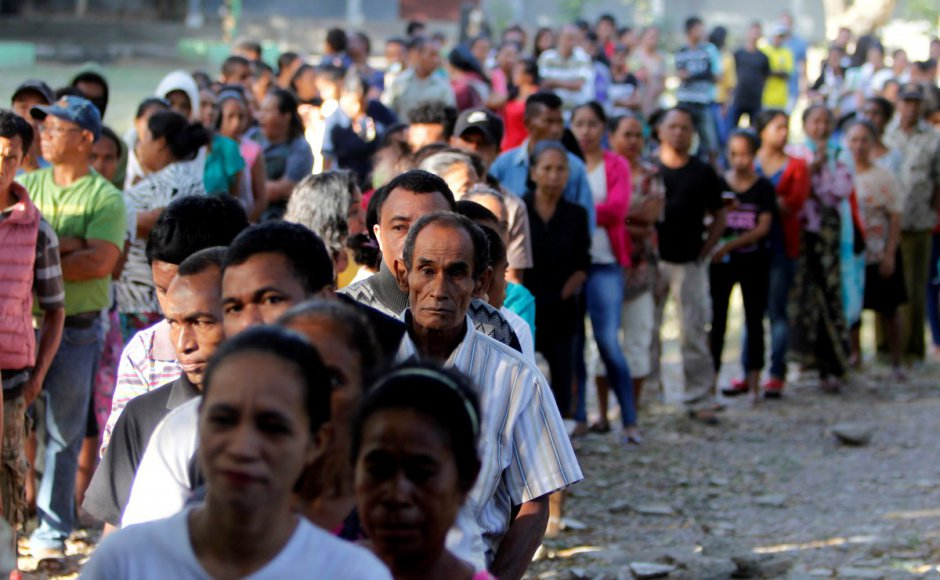Corruption and economy main concerns as East Timor votes for parliament