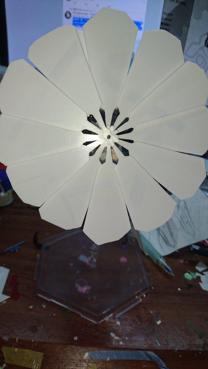 #フレームアームズ・ガール #フレームアームズ・ガールでシンフォギア#SYMPHOGEAR 神獣鏡ハリセン形態の進捗です