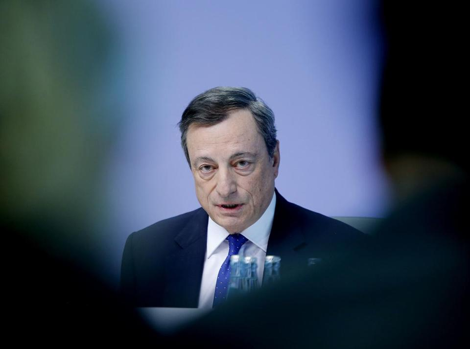 European Central Bank chief says inflation lags behind growth