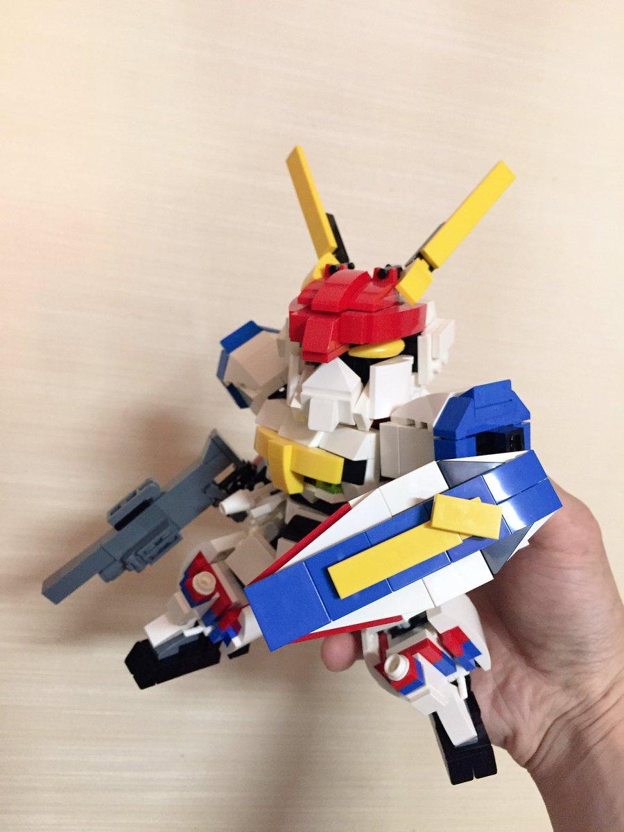 レゴ棚整理なう以前、大張先生にいいね頂いたSDドラグナーを発掘┗(^ω^)」