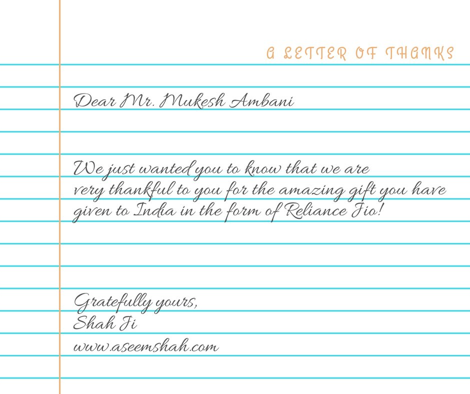 test Twitter Media - @reliancejio From Punjab to Mumbai, this letter should reach Mr. Ambani https://t.co/7SND2s3YPB  #rilagm2017 #jiophone #mukeshambani #nitamambani #jio https://t.co/KkR2eNbRc4