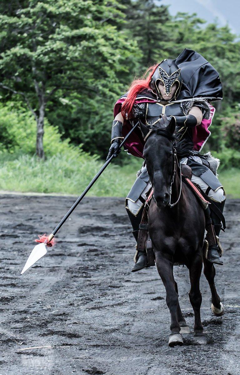 【コスプレ/#アルスラーン戦記】ダリューン:わたし撮影: 場所:#ロッキー乗馬クラブ