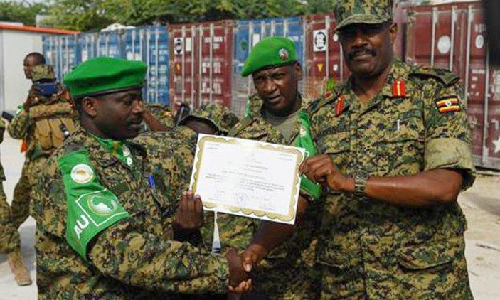 Uganda Army's Battle Group 19 leaves Somalia