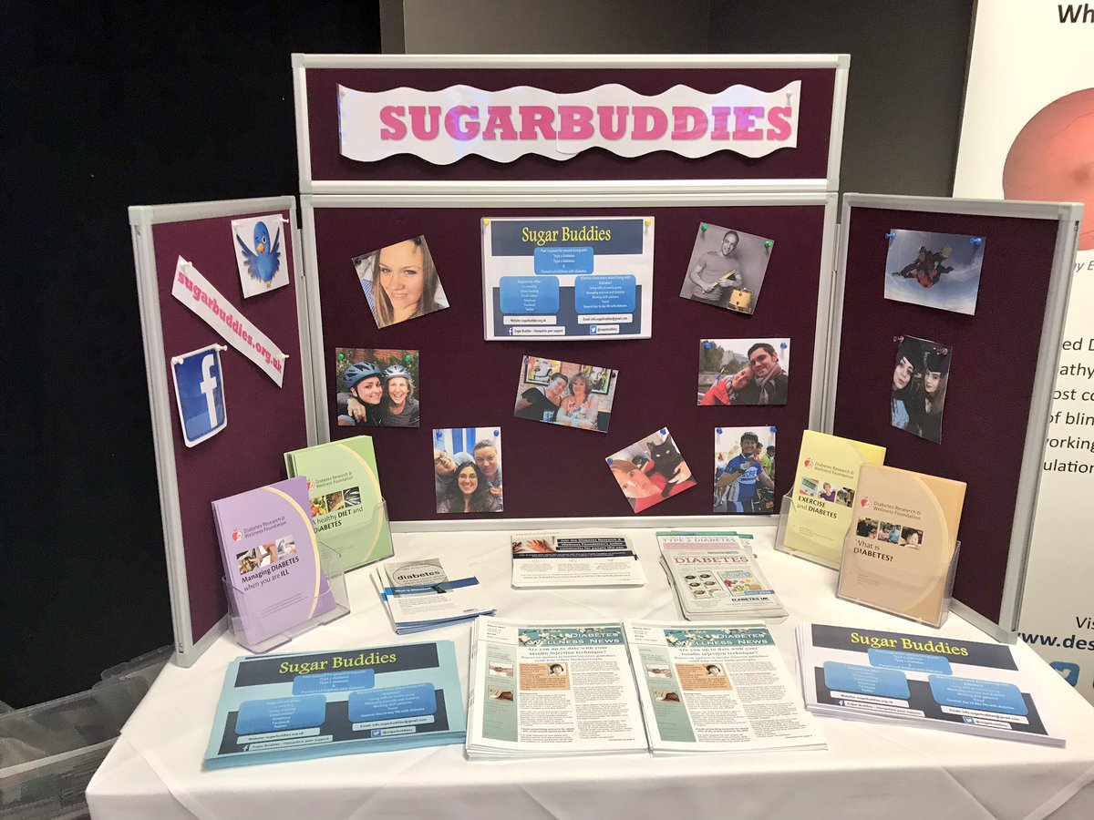test Twitter Media - Lots of information from @sugarbuddies1 today! Offering support for people living with #Type1 and #Type2 #Diabetes #diabeteswellnessday https://t.co/JvqZqLnNFi